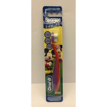 SPAZZOLINO ORAL-B STAGES...