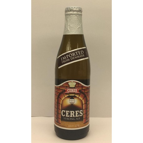 BIRRA CERES STRONG ALE CL.33