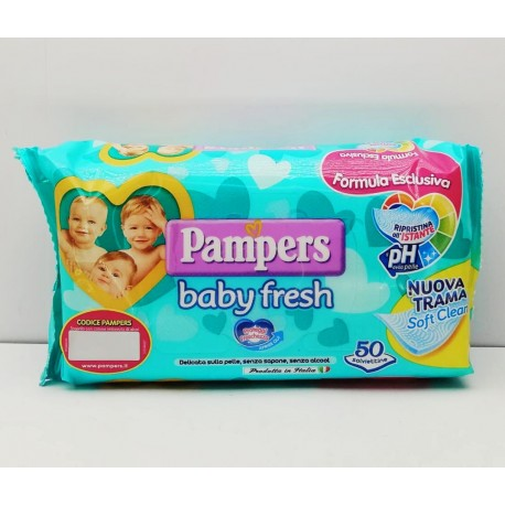 SALVIETTINE PAMPERS BABY...