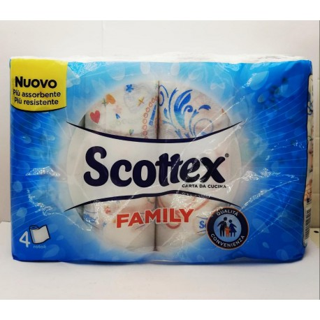 CARTA CUCINA SCOTTEX FAMILY...